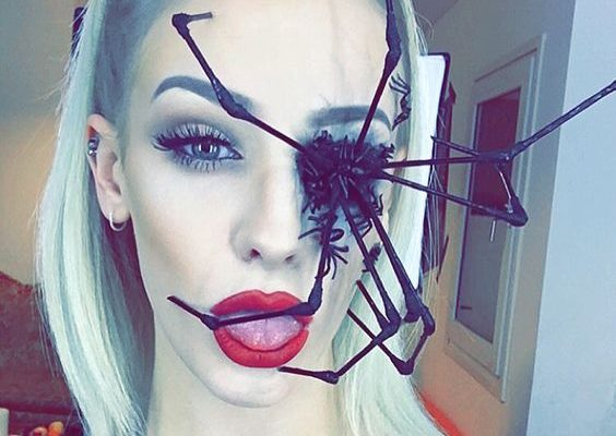 Perfect Spider Halloween Makeup