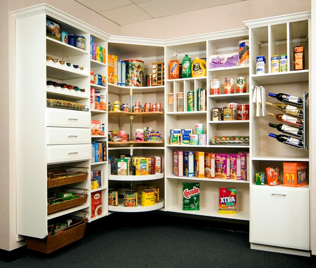 21 Cool Ideas & 4 Tips To Design Kitchen Pantry - SuperHit Ideas