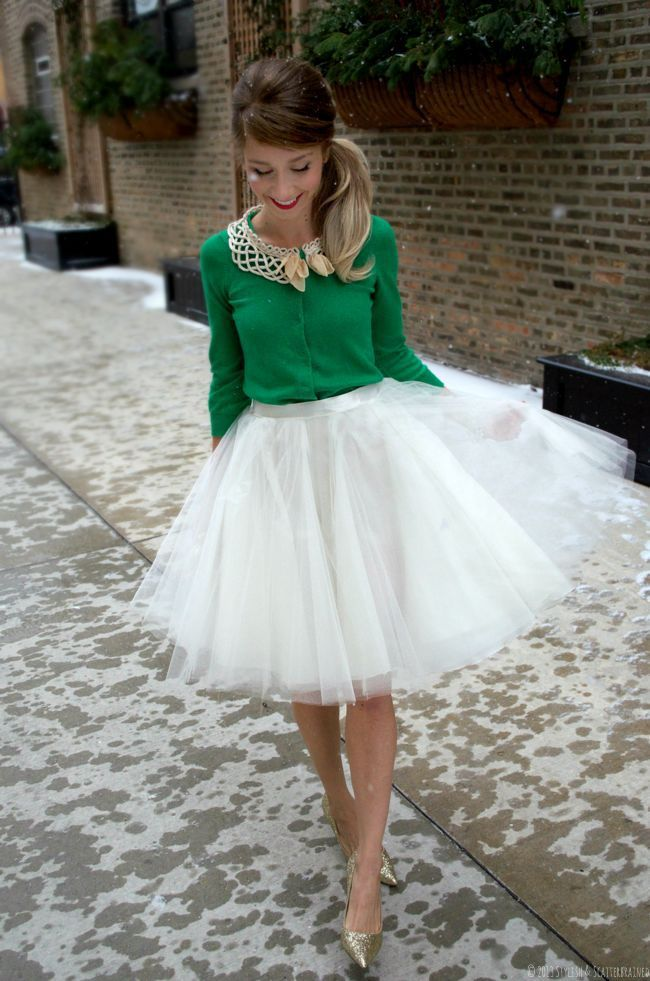 New Trend 2015 Color Available Fashion Mid Calf Tulle Skirt Solid Short Dresses Simple A line
