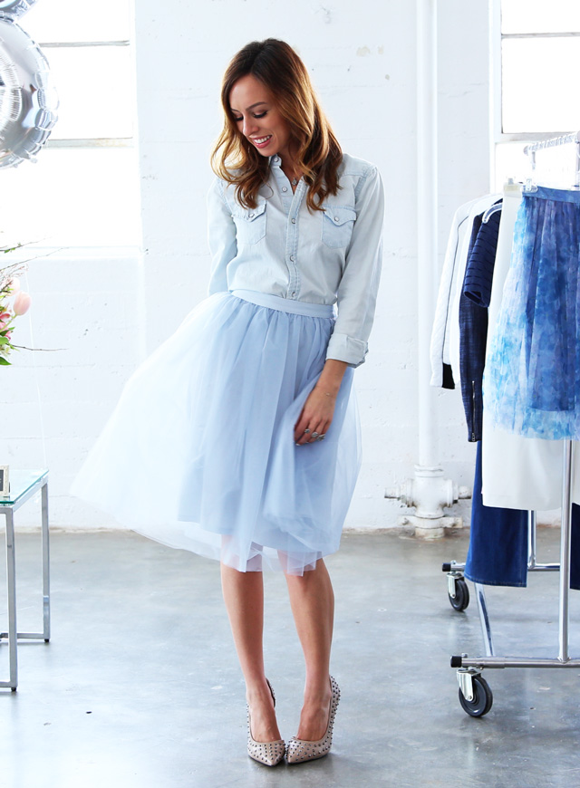 Style trend tulle skirt outfit ideas lauren conrad kohls collection disney princess