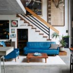 James Powditch's and Diane Adair's Modern Home with Touch of Nostalgia