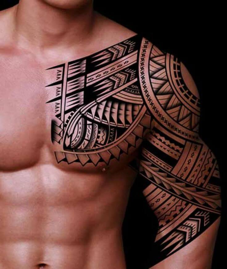 Sleeve Tribal Tattoo