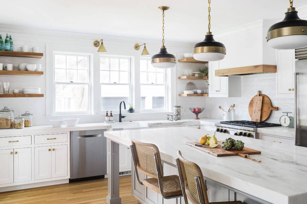 White Kitchen Interior