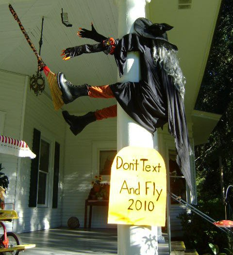 witch funny halloween decorations