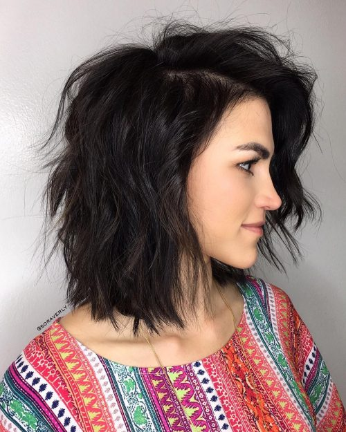 Top 30 Medium Length Layered Hairstyles Perfect For Lack