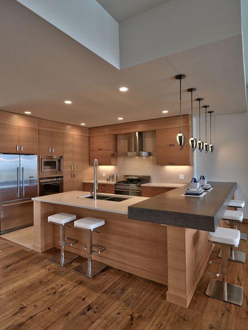 Luxurious Contemporary Kitchen Design