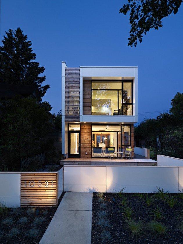 Modern Wood Exterior Home Design