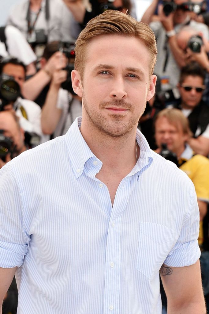 Ryan Gosling High and Tight Shot Hair