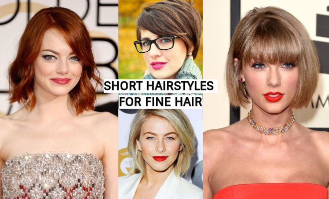 The Best 33 Short Hairstyles For Fine Hair - SuperHit Ideas