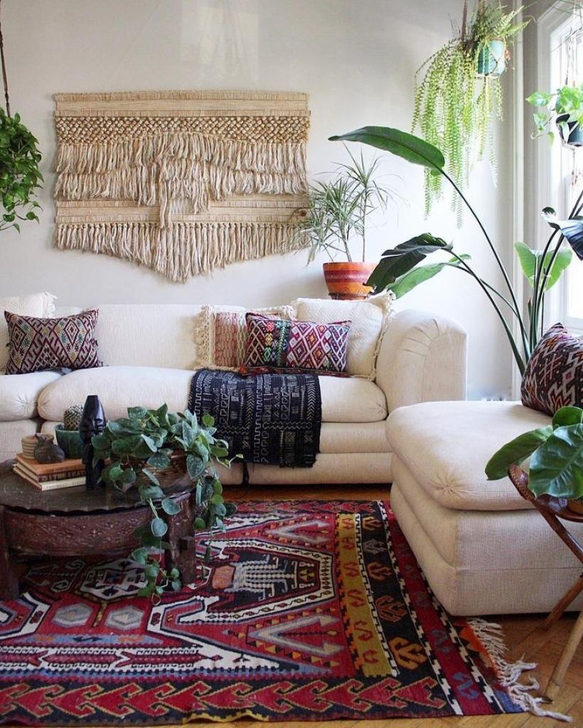 Romantic Bohemian Style Living Room