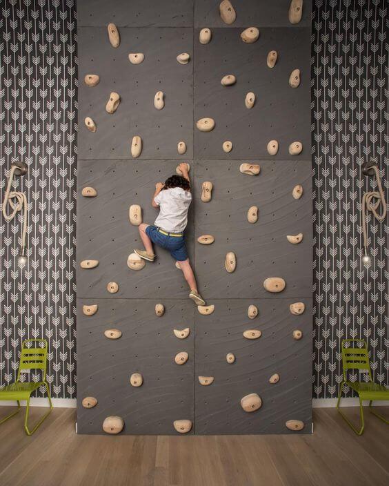 Rock Climbing Wall For Kids
