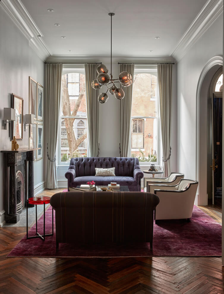 Subtle Luxury Traditional Living Room