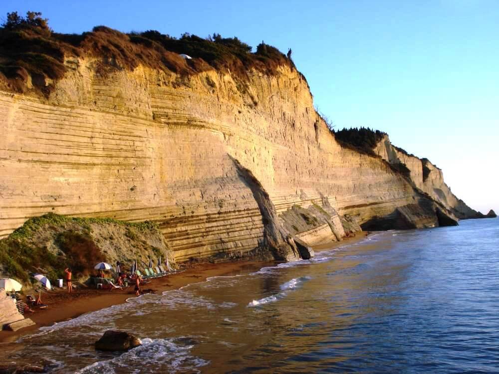 Gorgeous Loggas Beach In Corfu