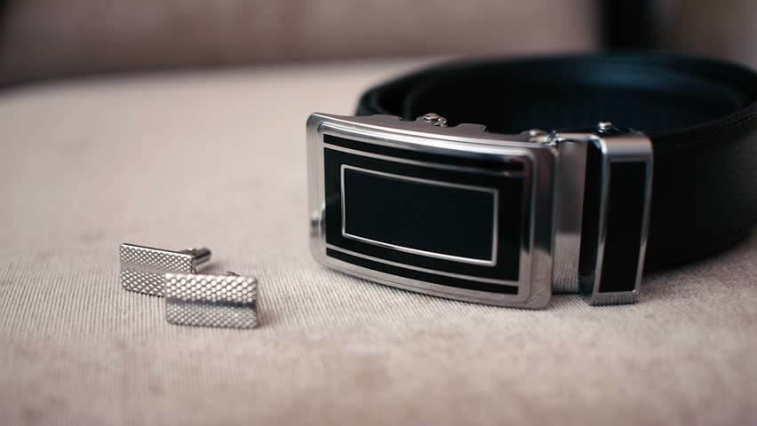 Groom Wedding Suit Belt