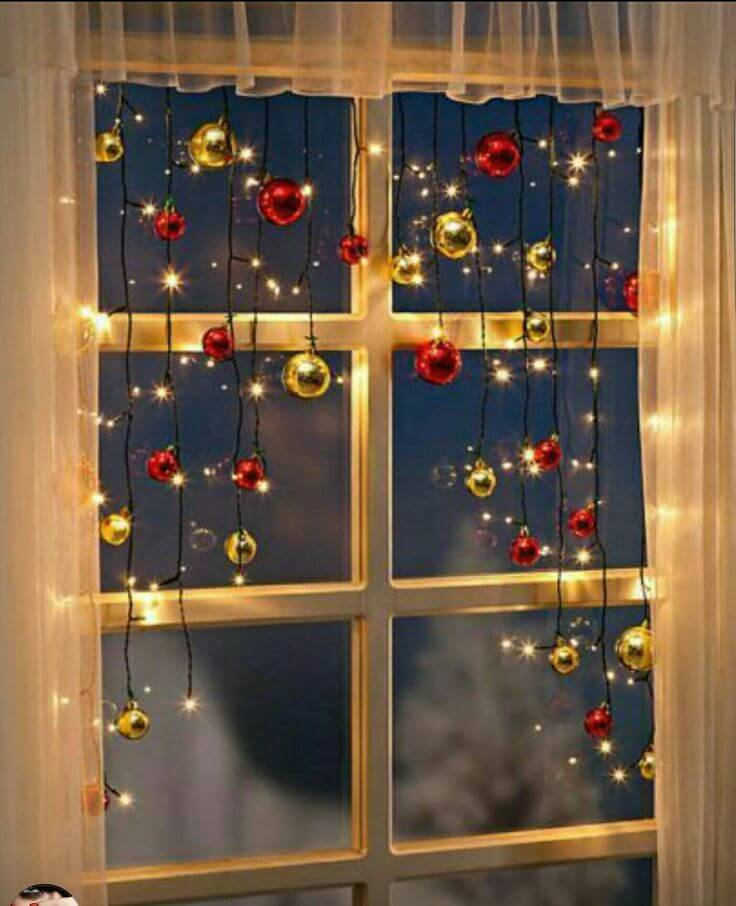 Christmas Window Small Space Decoration