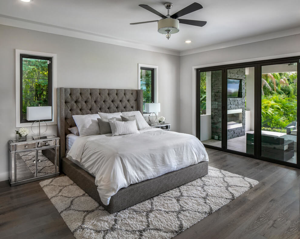Grey Tones Modern Bedroom