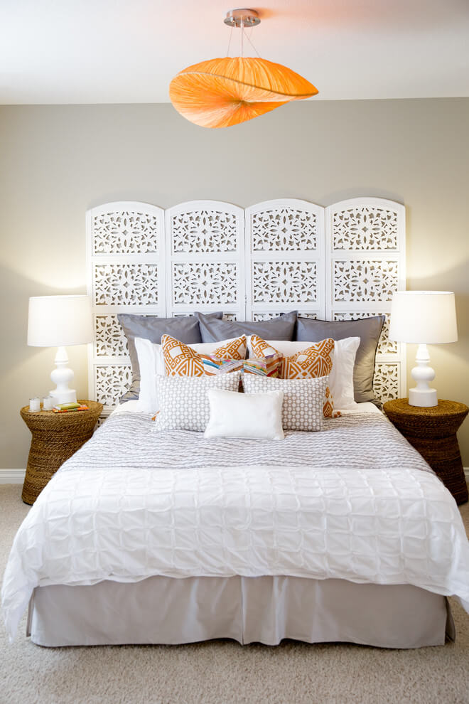 Contemporary Bedroom With Moroccan Touch