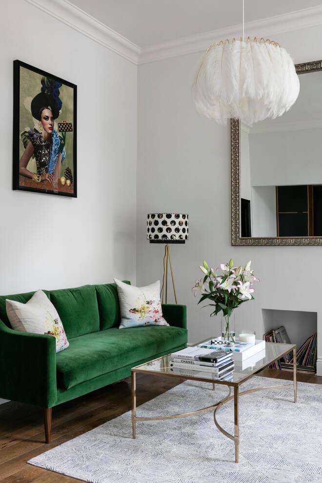 Fresh Contemporary Small Living Room