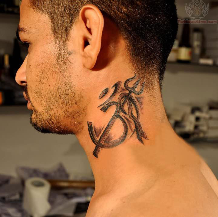 2605375a3 31 Cool Neck Tattoos Design for Guys - Super Hit Ideas