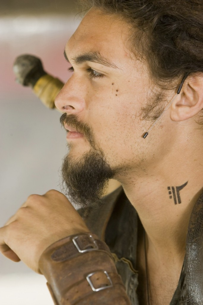 Ronon guys of stargate Jason Momoa tattoo