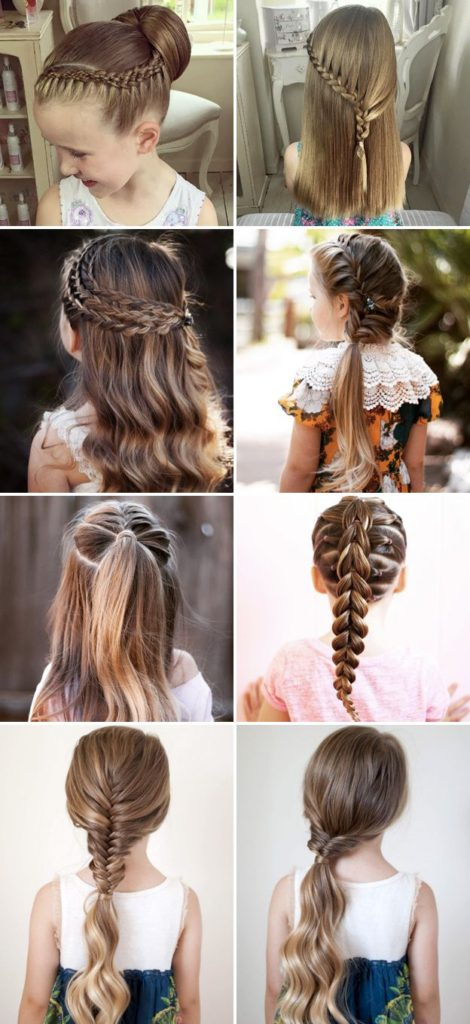 Back To School Hairstyles For Little Girl