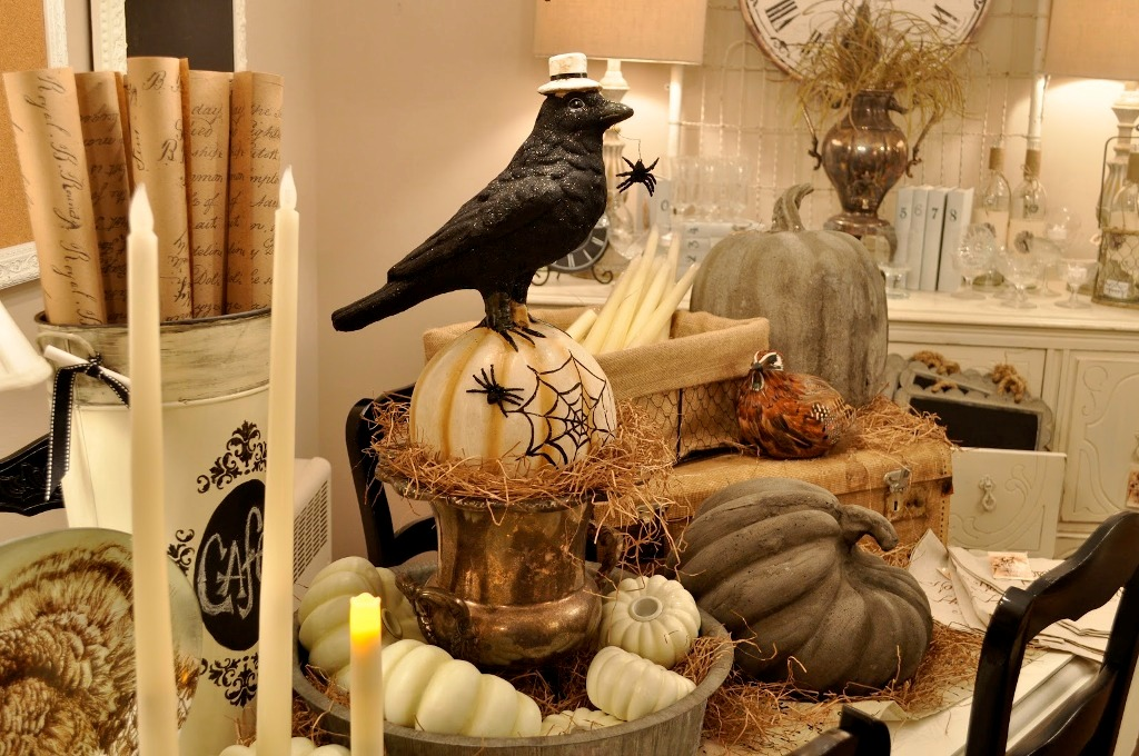Rustic Halloween Decorations Ideas