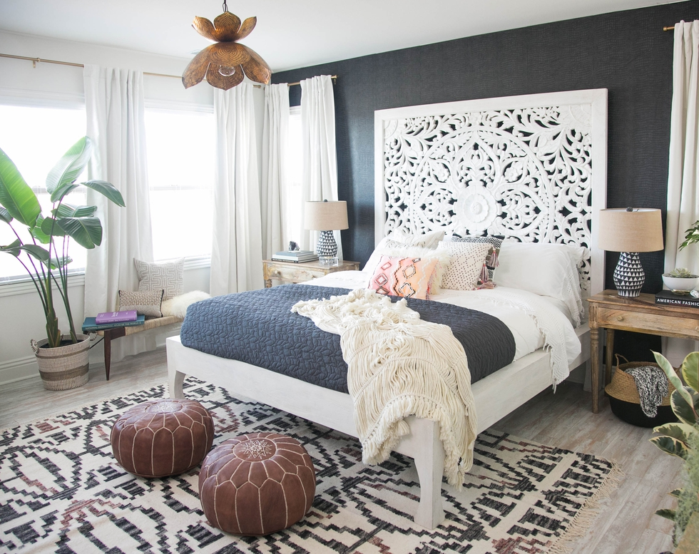 Boho Chic Master Bedroom