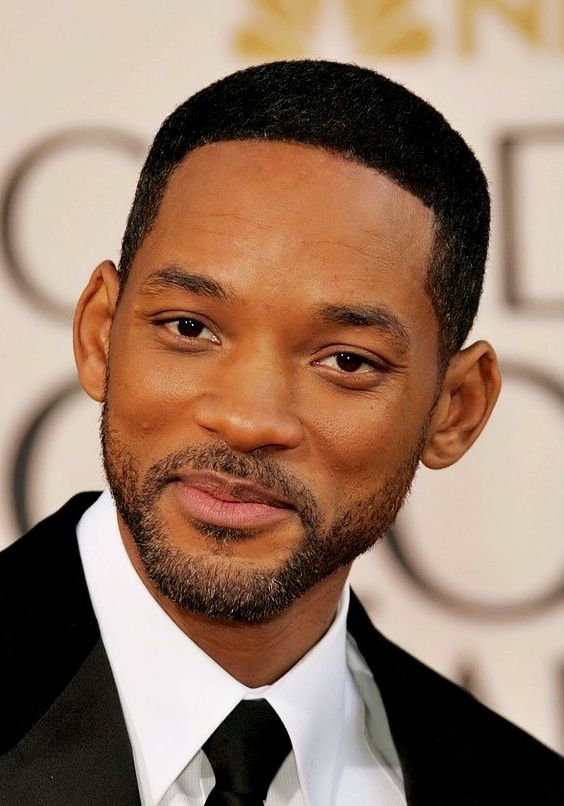 Low Fade Haircut Will Smith
