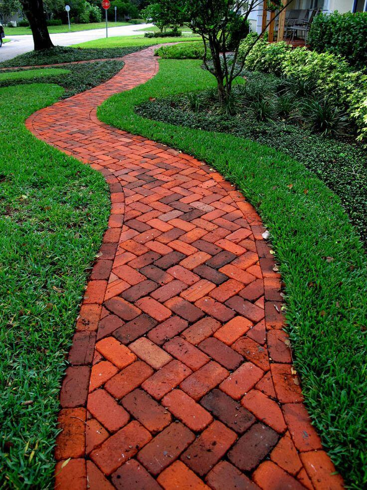 Brick Walkway Patterns Design