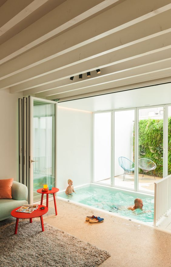 Indoor Plunge Pool for Kids
