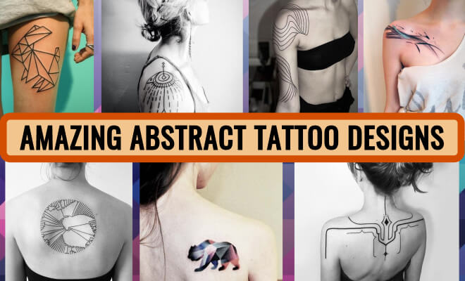 Amazing Abstract Tattoo Designs Collection