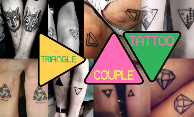 Triangle Couple Tattoo Designs