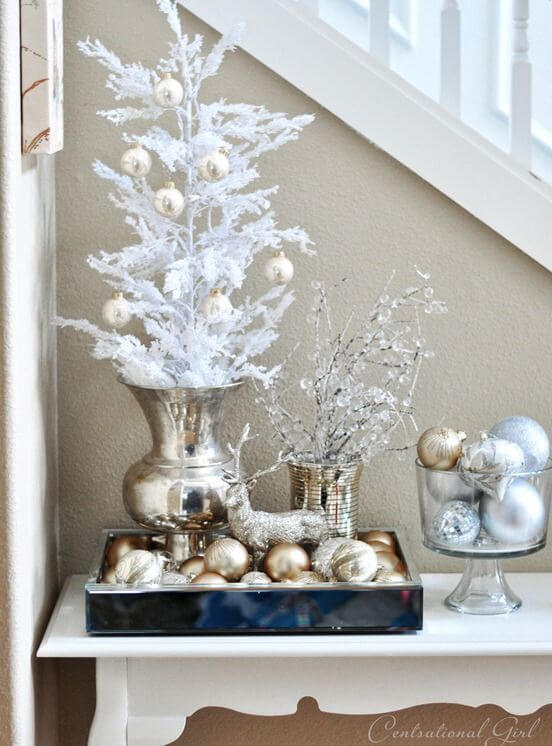 Glamorous Christmas Table Display