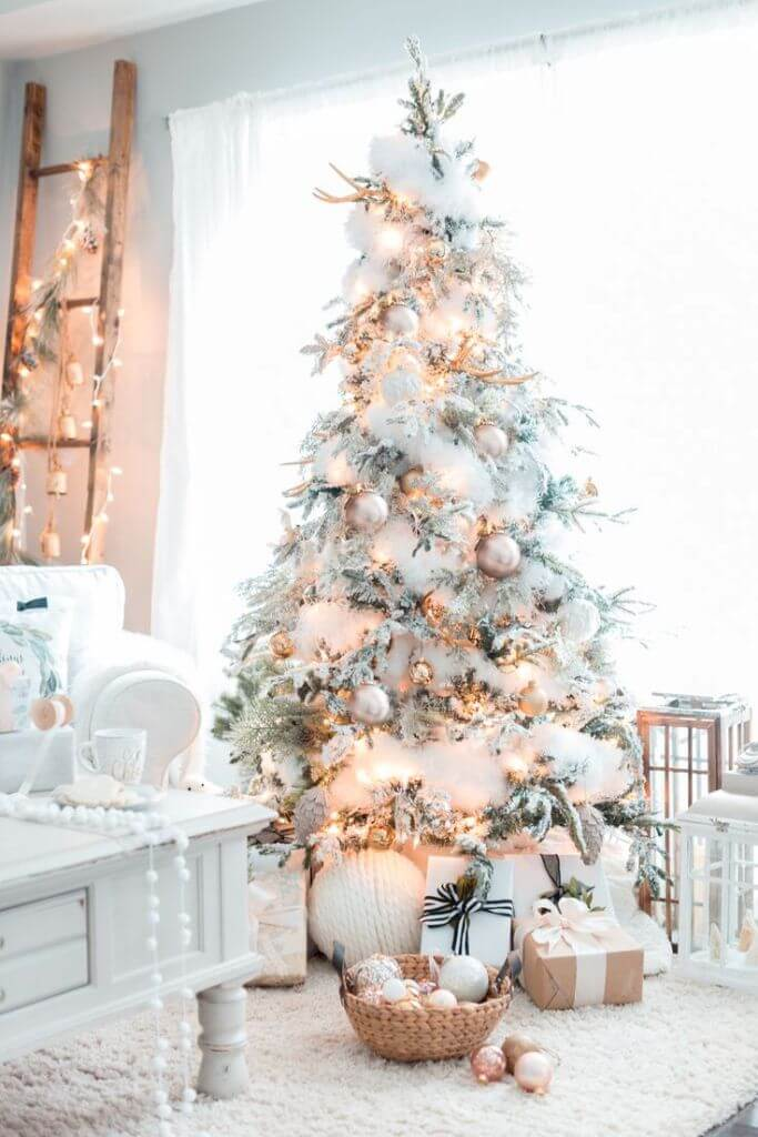 Pastel Colors Christmas Tree Decor