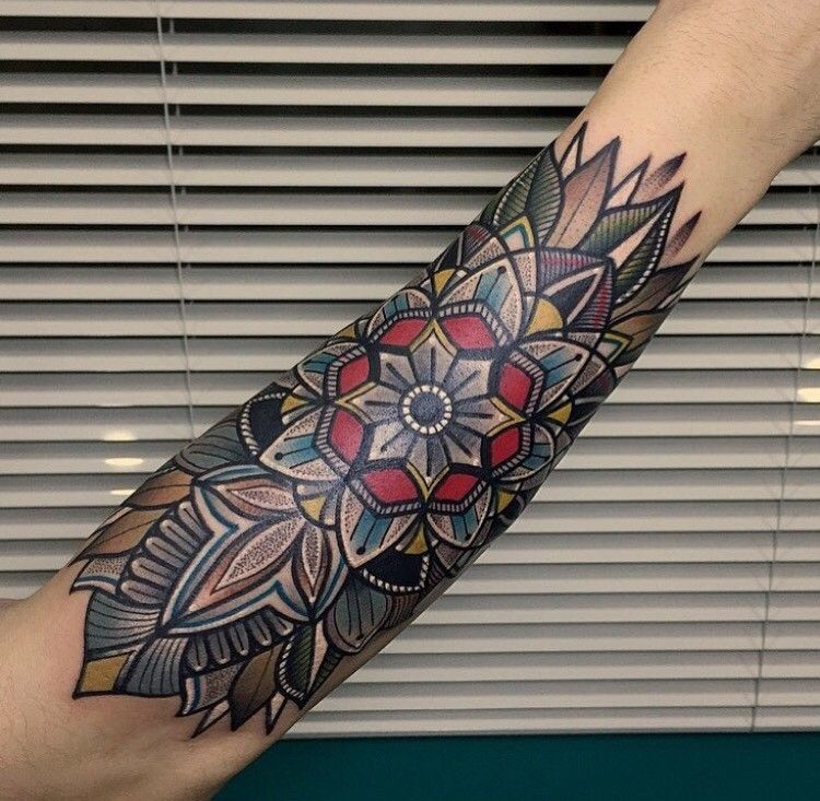 Traditional Arm Tattoos