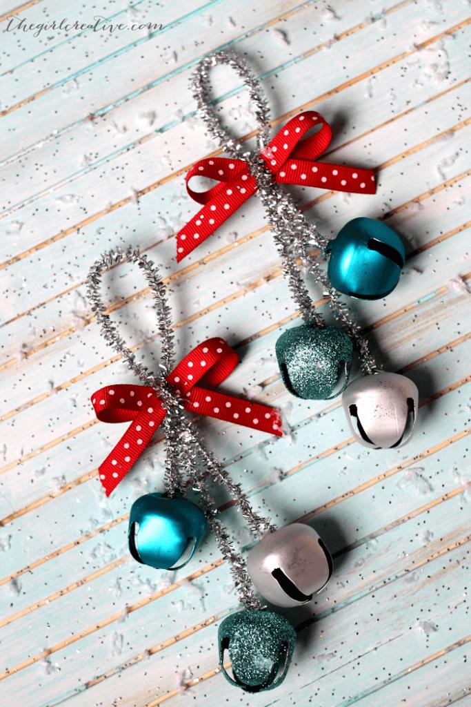 Jingle Bells Christmas Decor Ornaments