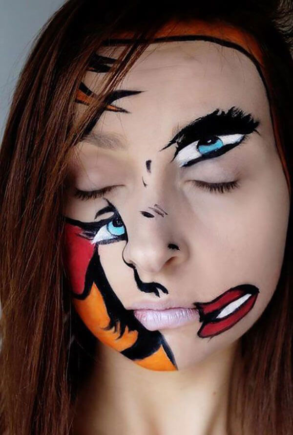 Scary Halloween Makeup Ideas Women