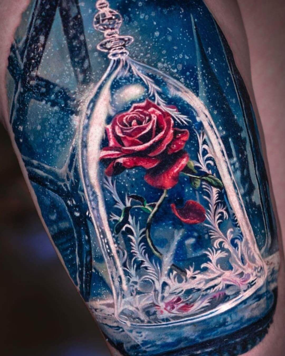 55 Rose Tattoo Ideas To Try Because Love And A Rose Can T Be Hid