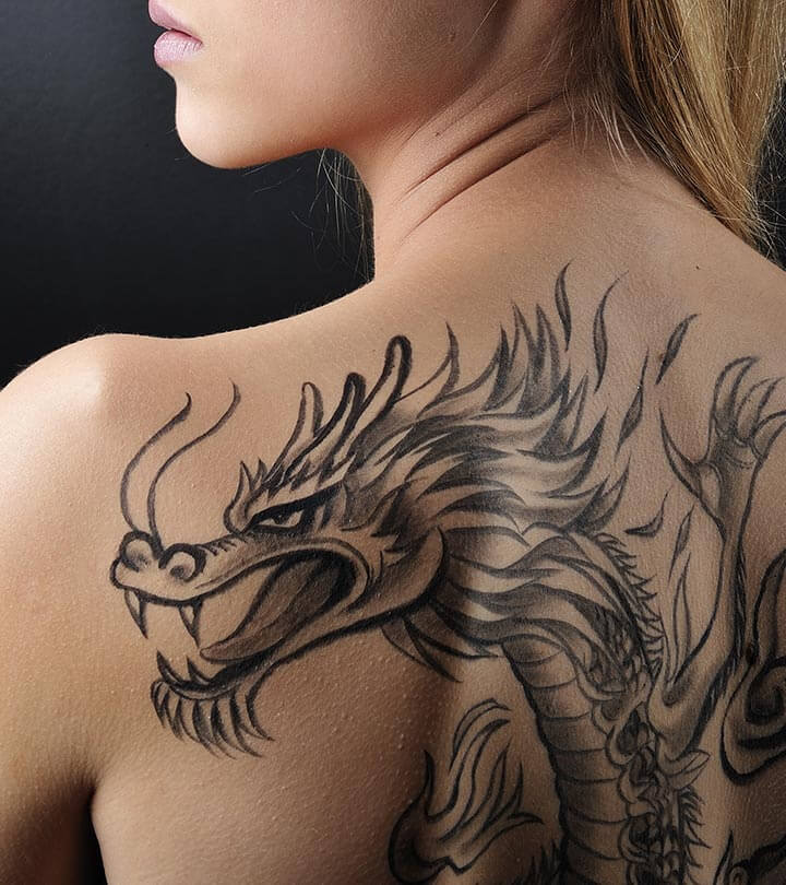 Mythical Dragon Tattoo