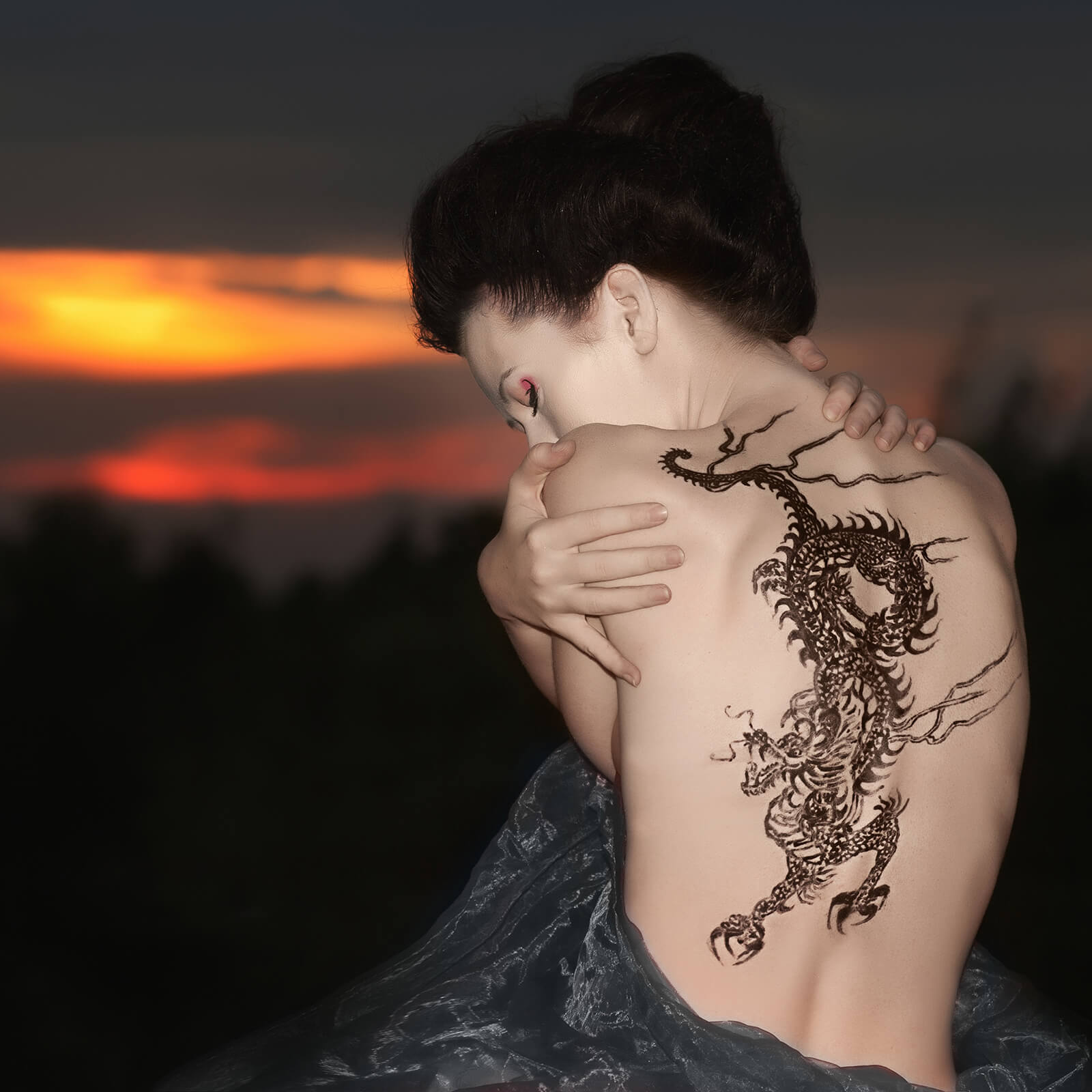 The Girl With The Dragon Tattoo Movie Tattoo