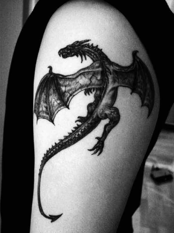 60 Dragon Tattoo Ideas To Copy To Live Your Fairytale Through Tattoos