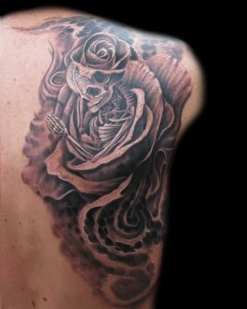 Big Rose Tattoo