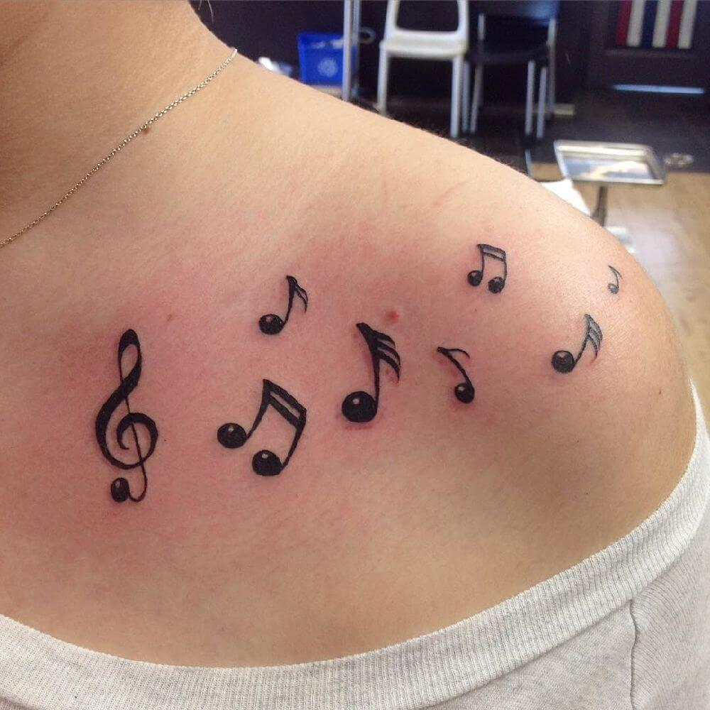 Music Small Tattoo