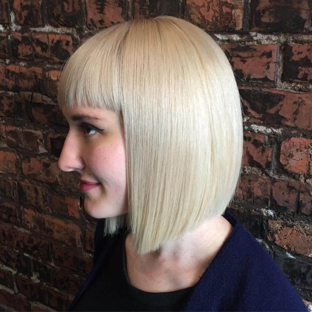 Bob Haircuts with Fringe