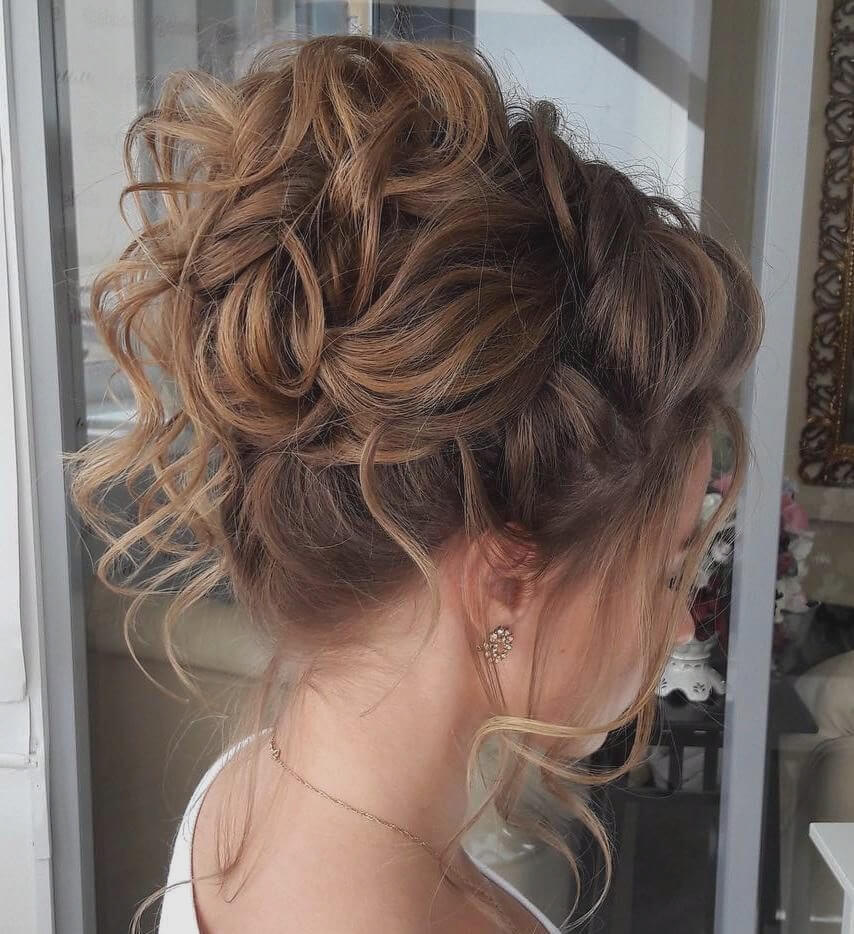 25 + Curly Updo Hairstyles - Flaunt Your Curls and Create a New Style