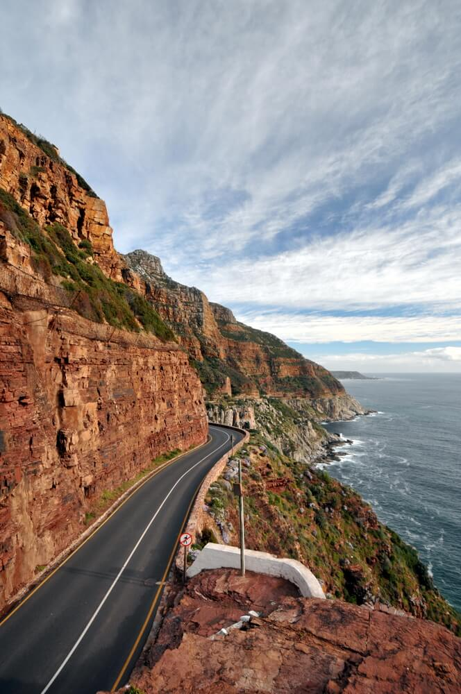 The Chapman's Peak Drive South Africa