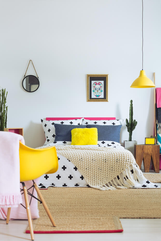 Bright And Sunny Eclectic Decor