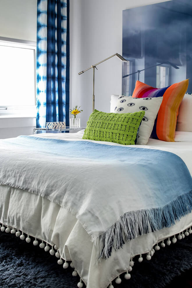 Coastal Colors Contemporary Bedroom Decor