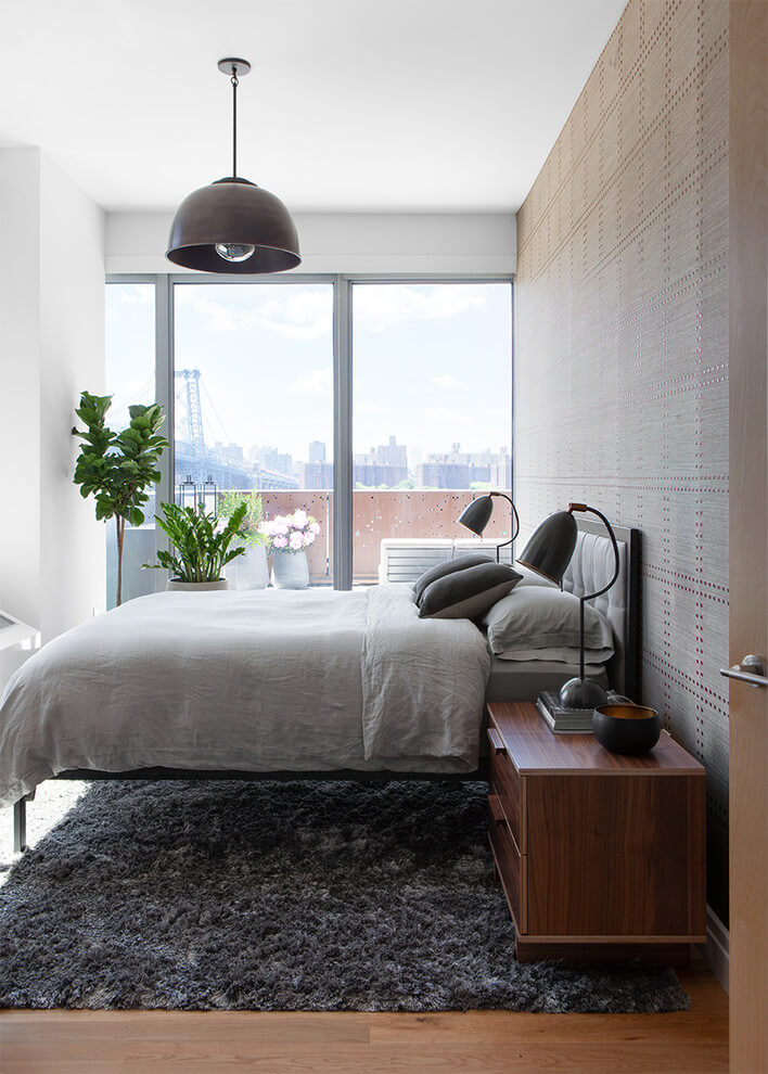 Contemporary Touch Industrial Bedroom
