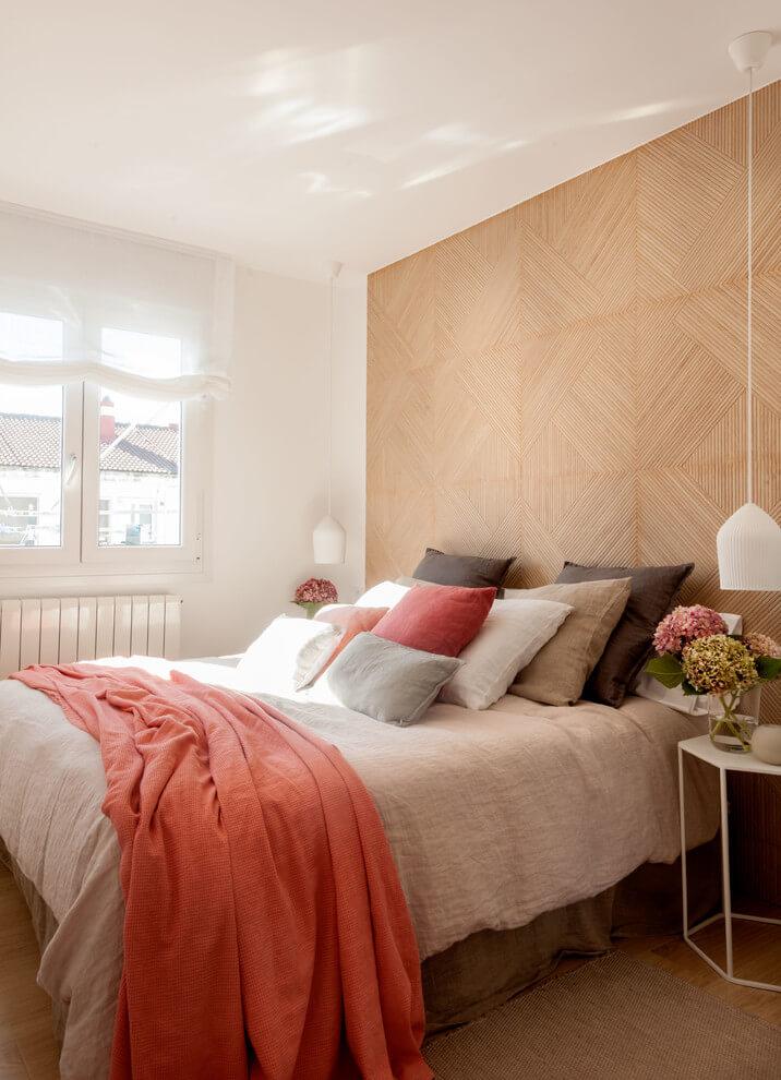 Shabby Chic Wood Tones Bedroom